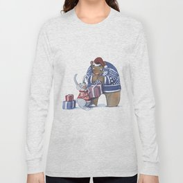 A gift from the rabbit Long Sleeve T-shirt
