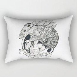 autumn rat Rectangular Pillow