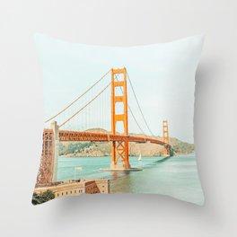 Golden Gate #architecture #california #travel Throw Pillow
