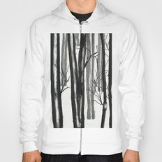 wood and snow  Hoody