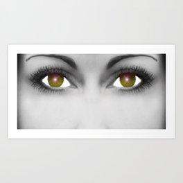 Eye-Borg Art Print