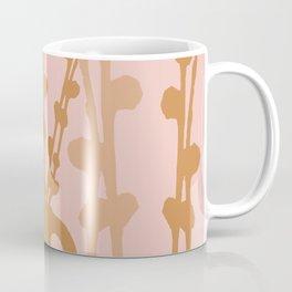 Furry Catkins in Vase Early Spring Mood Pink Beige Version Coffee Mug
