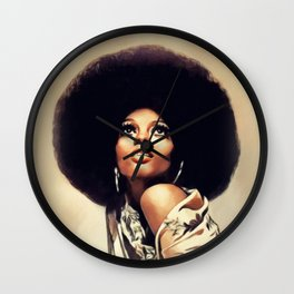 Diana Ross, Music Legend Wall Clock