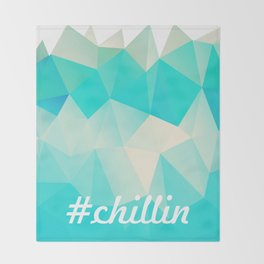 Chillin Throw Blanket