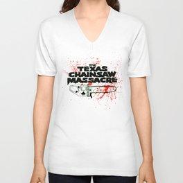 Texas Chainsaw Massacre Unisex V-Neck