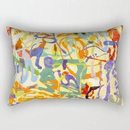 Shamanic Painting 04 Rectangular Pillow