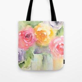 Soft Bouquet Tote Bag
