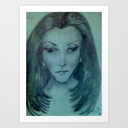 CONTESSA Art Print