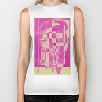 pop art Biker Tanks featuring Pop by MonsterBrown