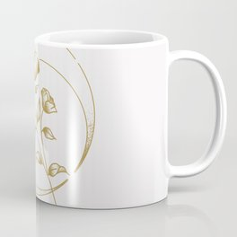 Gold Rose Coffee Mug