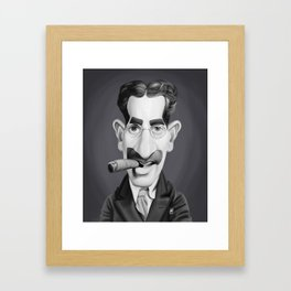 Groucho Marx Framed Art Print