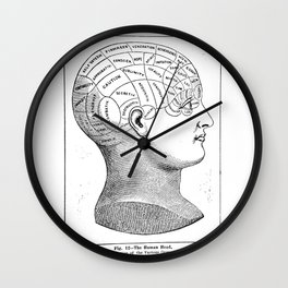 Phrenology2 Wall Clock