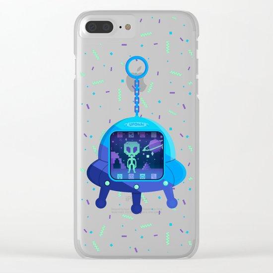 UFOtchi Clear iPhone Case
