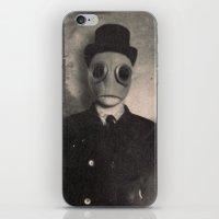 gentleman iPhone & iPod Skins featuring Gentleman by nihilnihilnihil