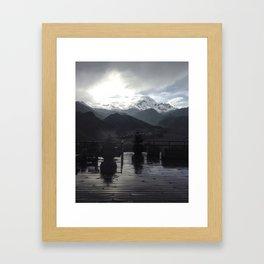 Kazbegi Framed Art Print