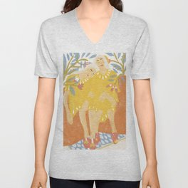 Botanical Girls Unisex V-Neck