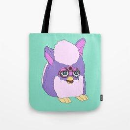 Purple Furby Tote Bag