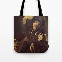 """Hendrick Terbrugghen """"A Boy Playing the Lute"""" Tote Bag"""