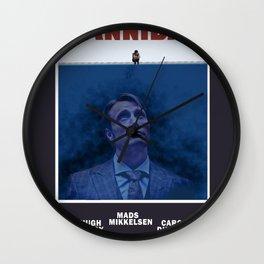 Hannibal as Jaws Wall Clock