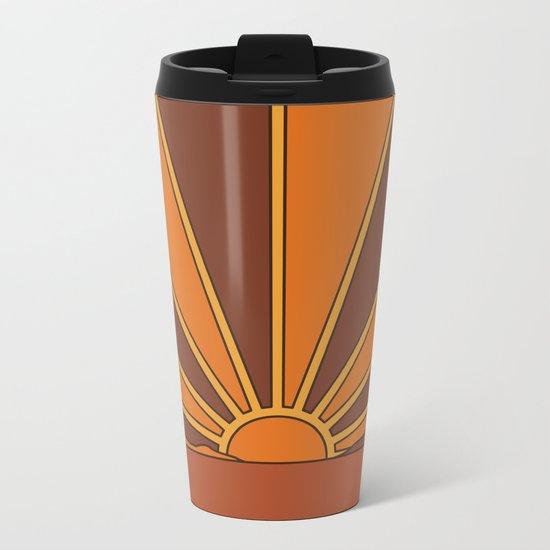 Sun Dreamer Metal Travel Mug