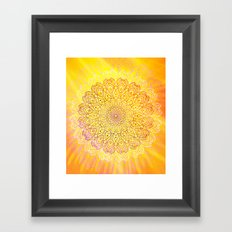 MandalaS6-1 Framed Art Print