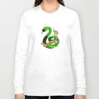 slytherin Long Sleeve T-shirts featuring Slytherin by Markusian