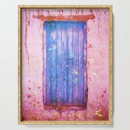 Blue Door Serving Tray