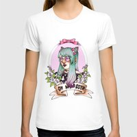 pastel goth T-shirts featuring Oh my GOTH! by Raquel Amo Art