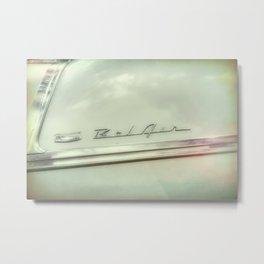 Classic Car Detail photograph Metal Print
