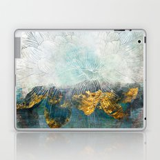 Lapis - Contemporary Abstract Textured Floral Laptop & iPad Skin