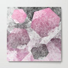 flatland 4 (pink) Metal Print