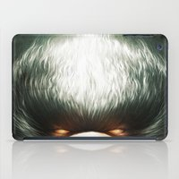 ale giorgini iPad Cases featuring Little Evil by Dr. Lukas Brezak