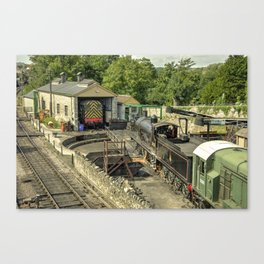 Swanage MPD  Canvas Print