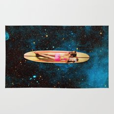 Pleiadian Surfer Rug