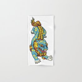Foo Dog Hand & Bath Towel