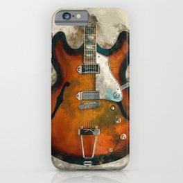 John Lennon's Electric Guitar iPhone Case