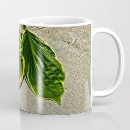Gilded Leaves Coffee Mug