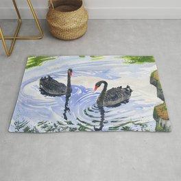 Black Swans - Soulmate Rug