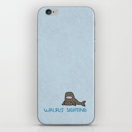 Walrus Sighting iPhone Skin