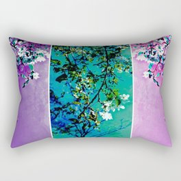 Triptych: Spring Synthesis Rectangular Pillow
