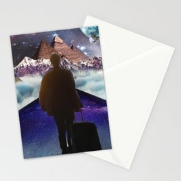 A Trip To Another Dimension Stationery Cards