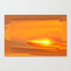 Sunrise Pollen Canvas Print