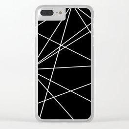 Prism Black Clear iPhone Case