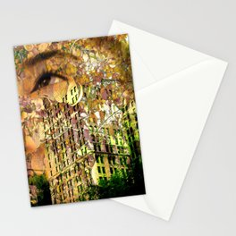 """Summer Colors In Millennium Park"" Stationery Cards"