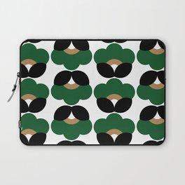 Green flowers Laptop Sleeve