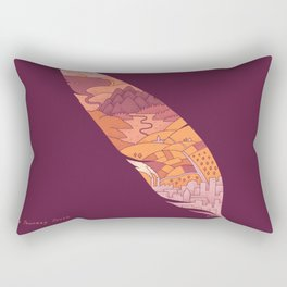 The Journey South Rectangular Pillow