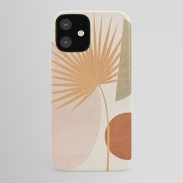 Tropical Leaf- Abstract Art 49a iPhone Case