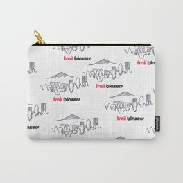 TRAIL BLAZERS HAND-DRAWING DESIGN Carry-All Pouch
