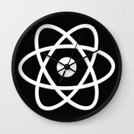 Atom | Science | Molecules Wall Clock