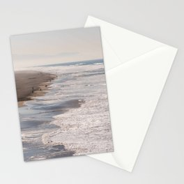 Ocean Beach, San Francisco Photography, From Above Art, Surfers, Pacific Ocean, California Art Stationery Cards